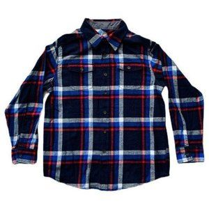 NWT Red & Blue Plaid Button-up- Size XX-Large (Boy